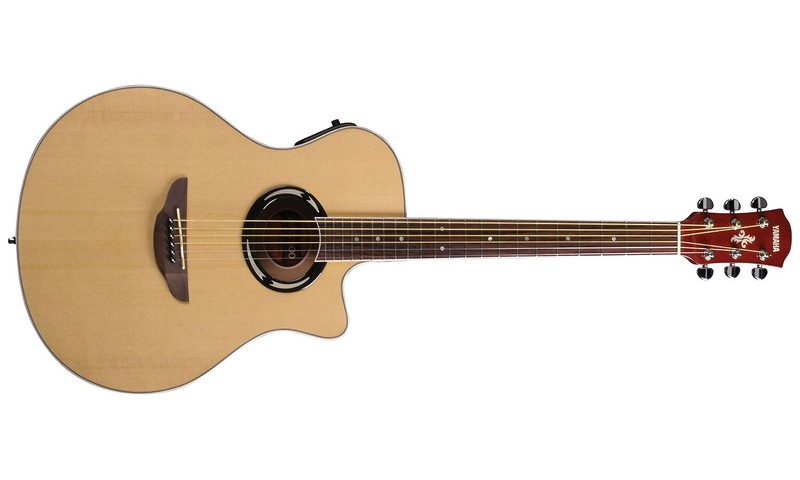 Yamaha apx500 nt electro accoustic guitar immaculate bag for Yamaha apx series